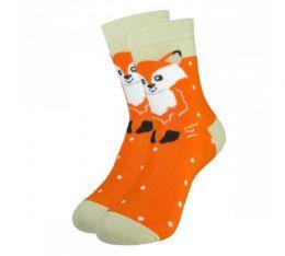 """Детские махровые носки 5061 """"Лисичка"""""""