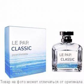 CLASSIC LE PAR.Туалетная вода 100мл (муж), шт