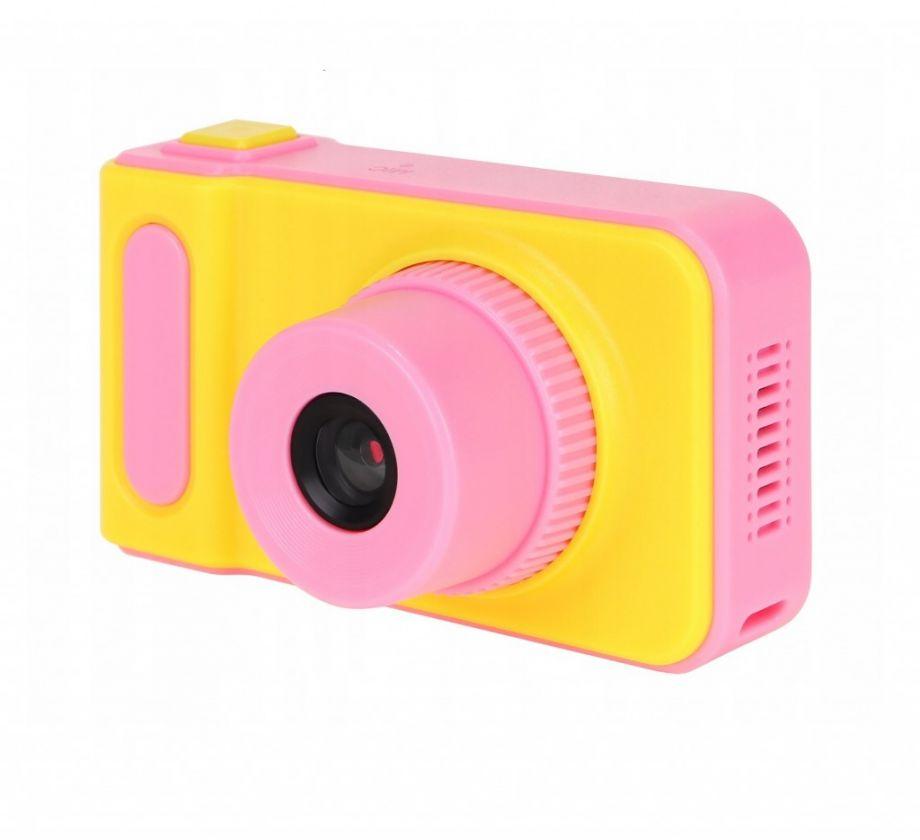 Детский цифровой фотоаппарат Kids Camera, Цвет Желтый