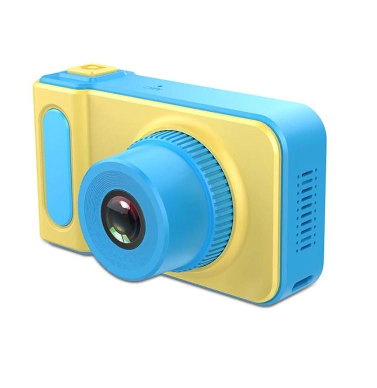 Детский цифровой фотоаппарат Kids Camera, Цвет Синий