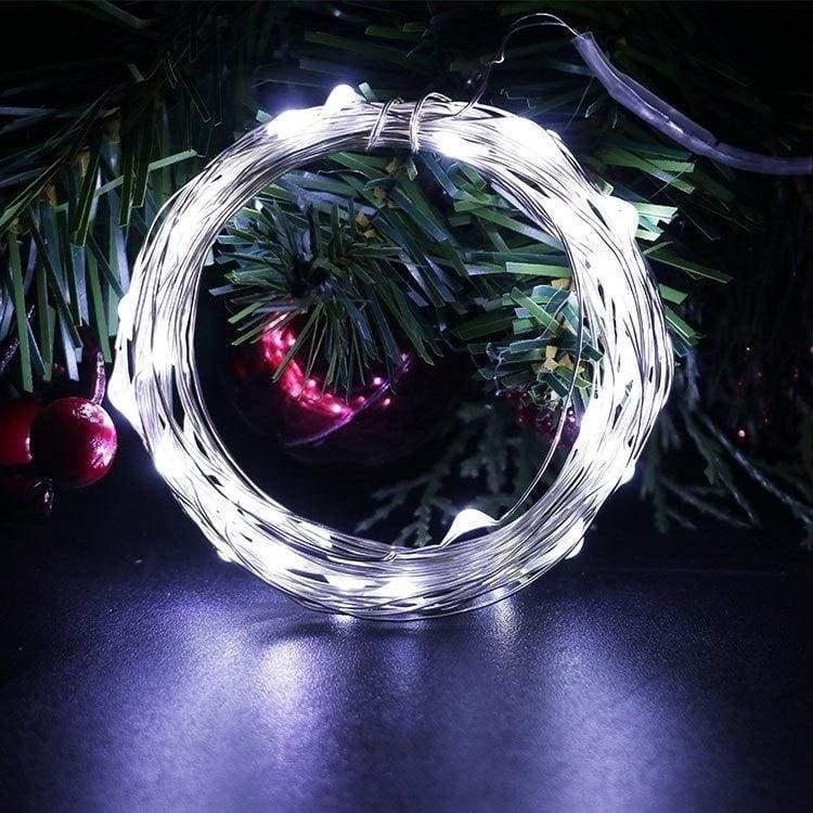 Огонек OG-LDL08 Белая светодиодная лента 5м