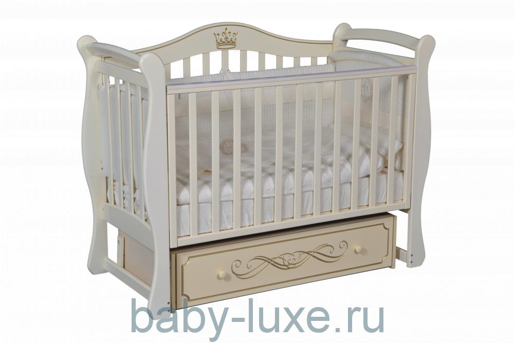 Кроватка детская Julia-11 универсальный маятник/ящик