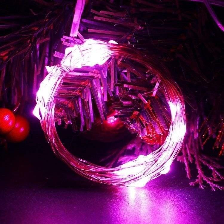 Огонек OG-LDL08 Розовая светодиодная лента 5м