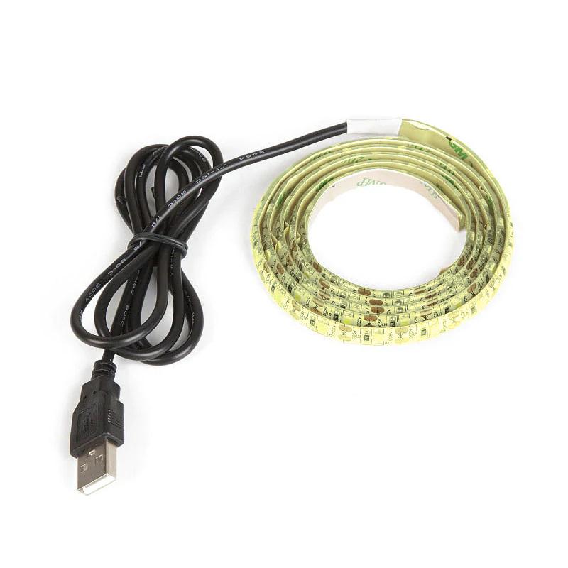 Огонек OG-LDL09 Желтая светодиодная лента 1м