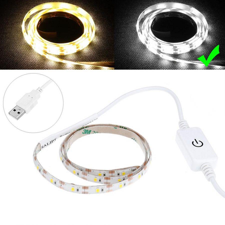Огонек OG-LDL10 Белая светодиодная лента 0.3м