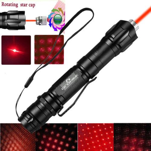 Огонек OG-LDS22 Красный ручной лазер