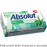 Absolut.Мыло антибактериальное Алоэ 90г , шт