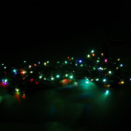 Гирлянда (20м, 133 мерцающих разными цветами светодиода)