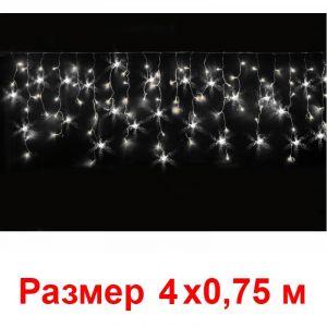 Гирлянда Нити (190 холодно-белых мерцающих светодиодов)