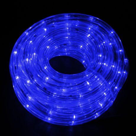 Катушка-LED, 10м, синяя
