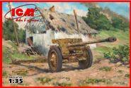 7,62 см Pak 36r Второй мировой войны немецкая противотанковая пушка