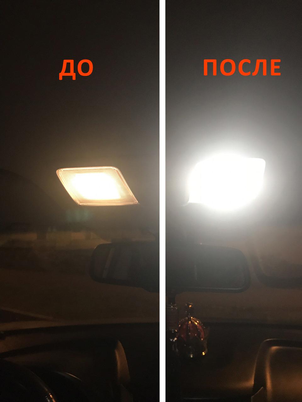 Светодиодное освещение салона KIA RIO X-LINE