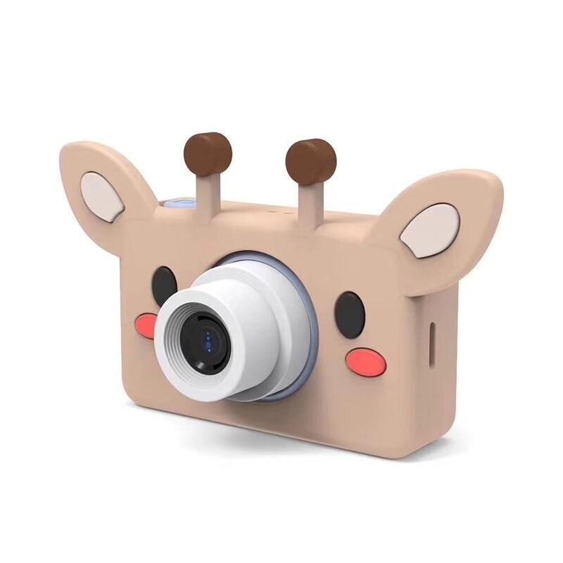 Детский цифровой фотоаппарат 24 МП с чехлом