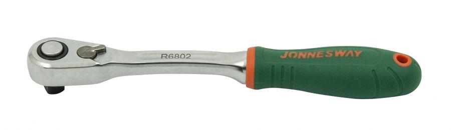"""R6802 Рукоятка трещоточная 1/4""""DR, 60 зубцов, 142 мм"""