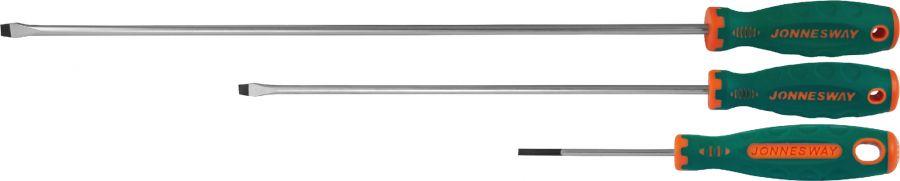 D71S6150 Отвертка стержневая шлицевая ANTI-SLIP GRIP, SL6.5х150 мм