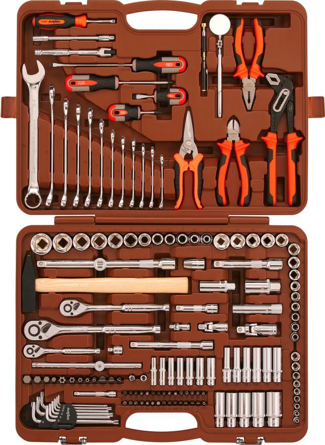 """OMT150S (OMT150S18) Набор инструмента универсальный 1/4"""", 3/8"""" и 1/2""""DR, 150 предметов"""