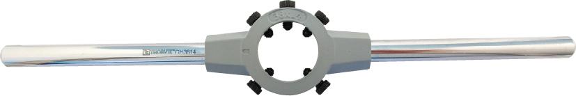 DH3814 Вороток-держатель для плашек круглых ручных Ф38x14 мм