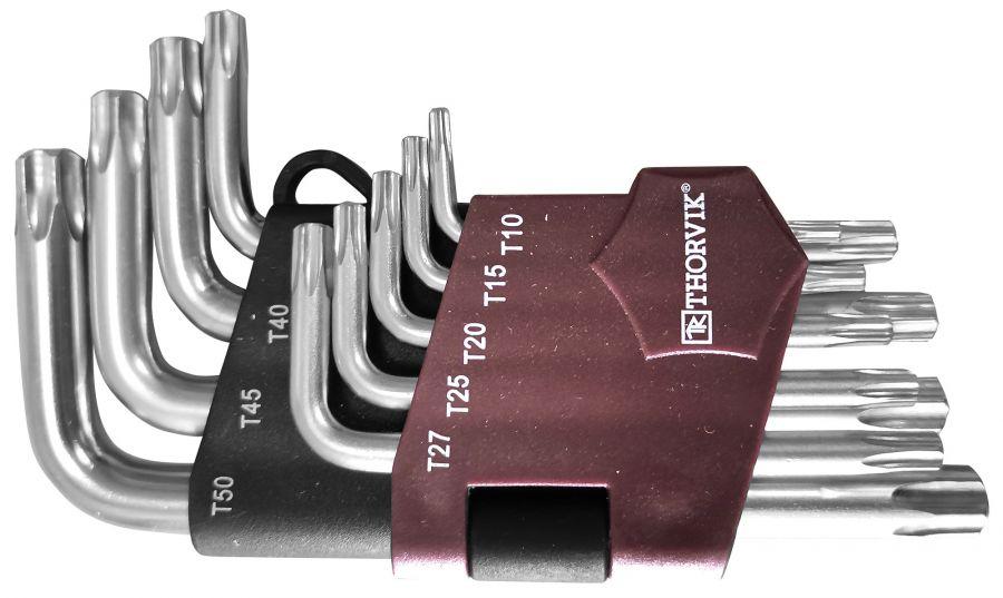 TKS9S Набор ключей торцевых TORX® коротких, Т10-T50, 9 предметов