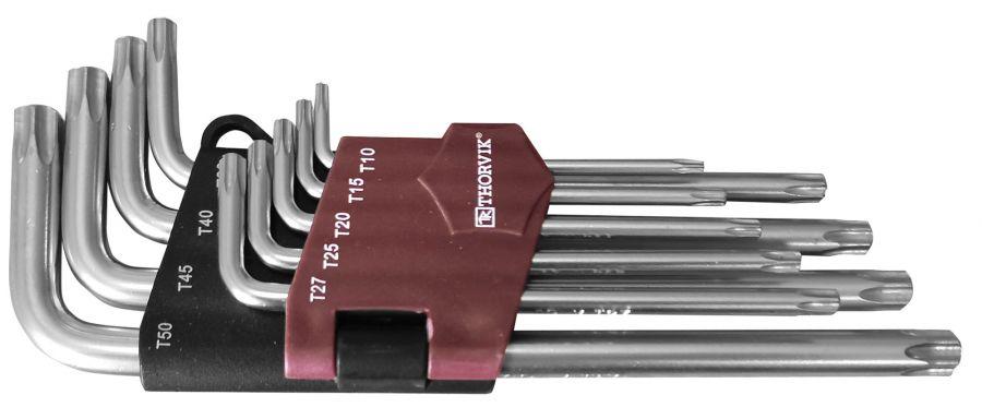TK9S Набор ключей торцевых TORX®, Т10-T50, 9 предметов