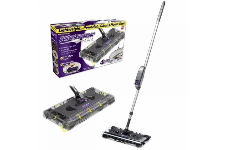Электровеник  для уборки Swivel Sweeper Max