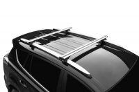 Багажник на рейлинги Toyota RAV4 2013-19, Lux Классик, крыловидные дуги (аэро-трэвэл 82 мм)