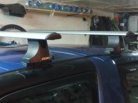Багажник на крышу Toyota RAV4 1994-2000, Атлант, крыловидные аэродуги