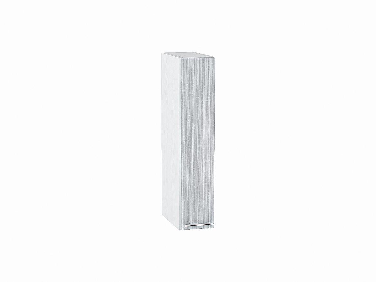 Шкаф верхний бутылочница Валерия ВБ200 (серый металлик дождь)