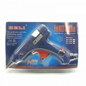`Термоклеевой пистолет с подставкой 20W, 7мм в упаковке