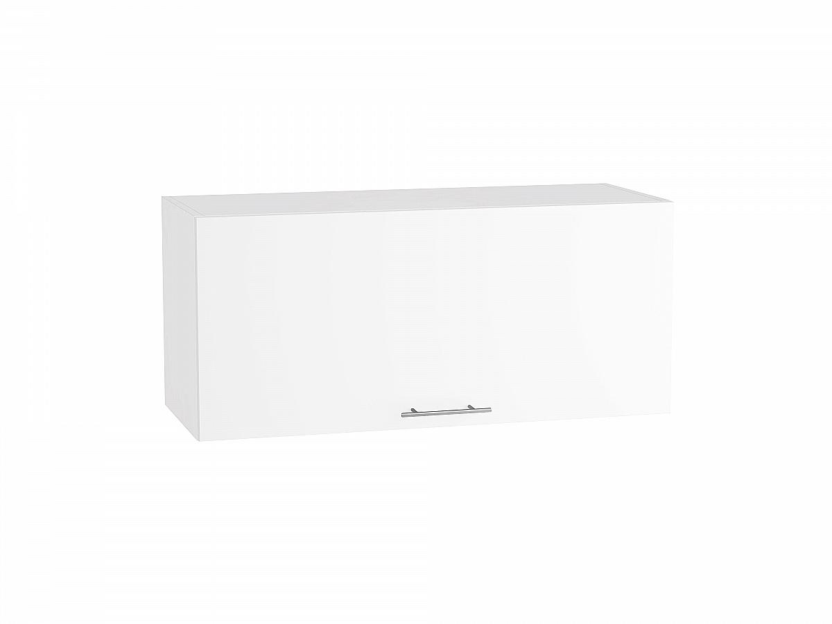 Шкаф верхний Валерия ВГ800 (белый глянец)