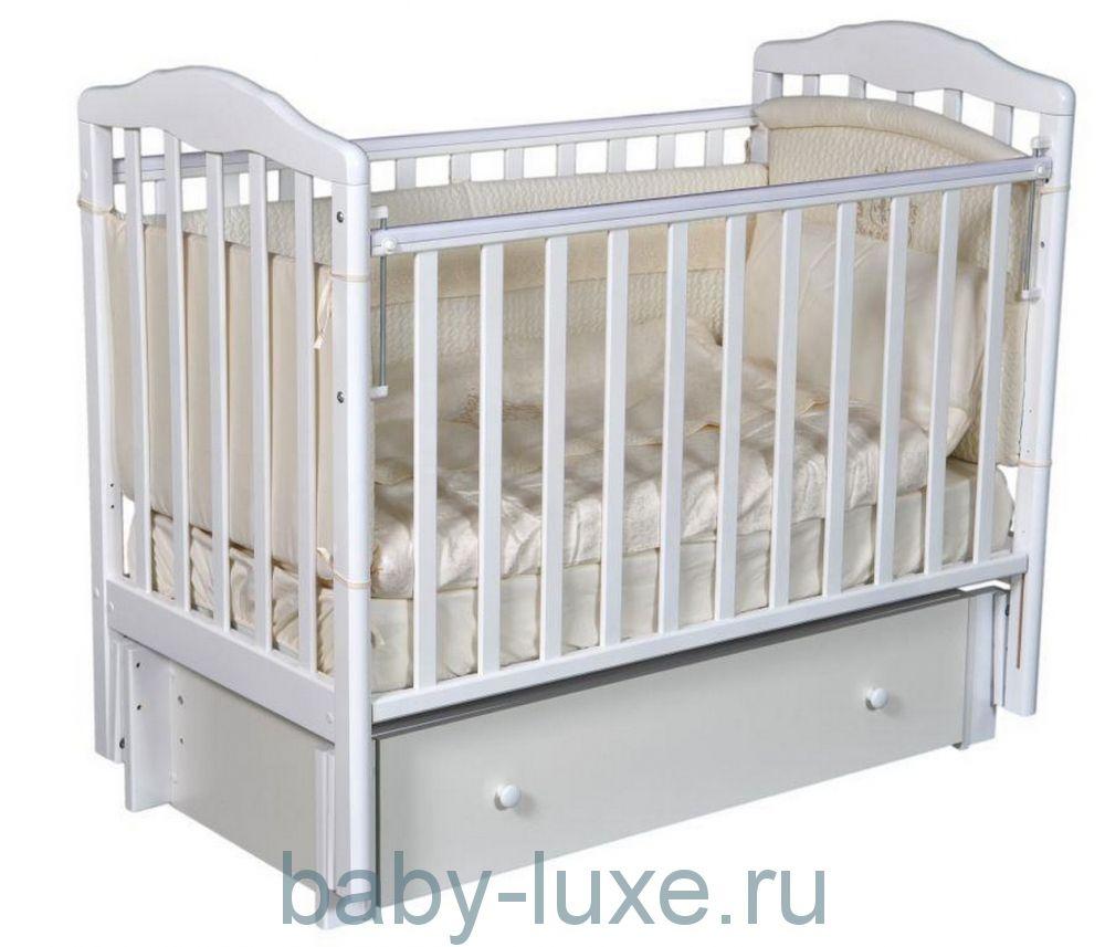 Кроватка детская Alita-4/6 маятник/ящик
