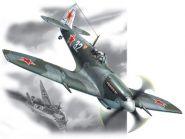Спитфайр LF.IX, истребитель ВВС СССР ІІ Мировой войны, самолет