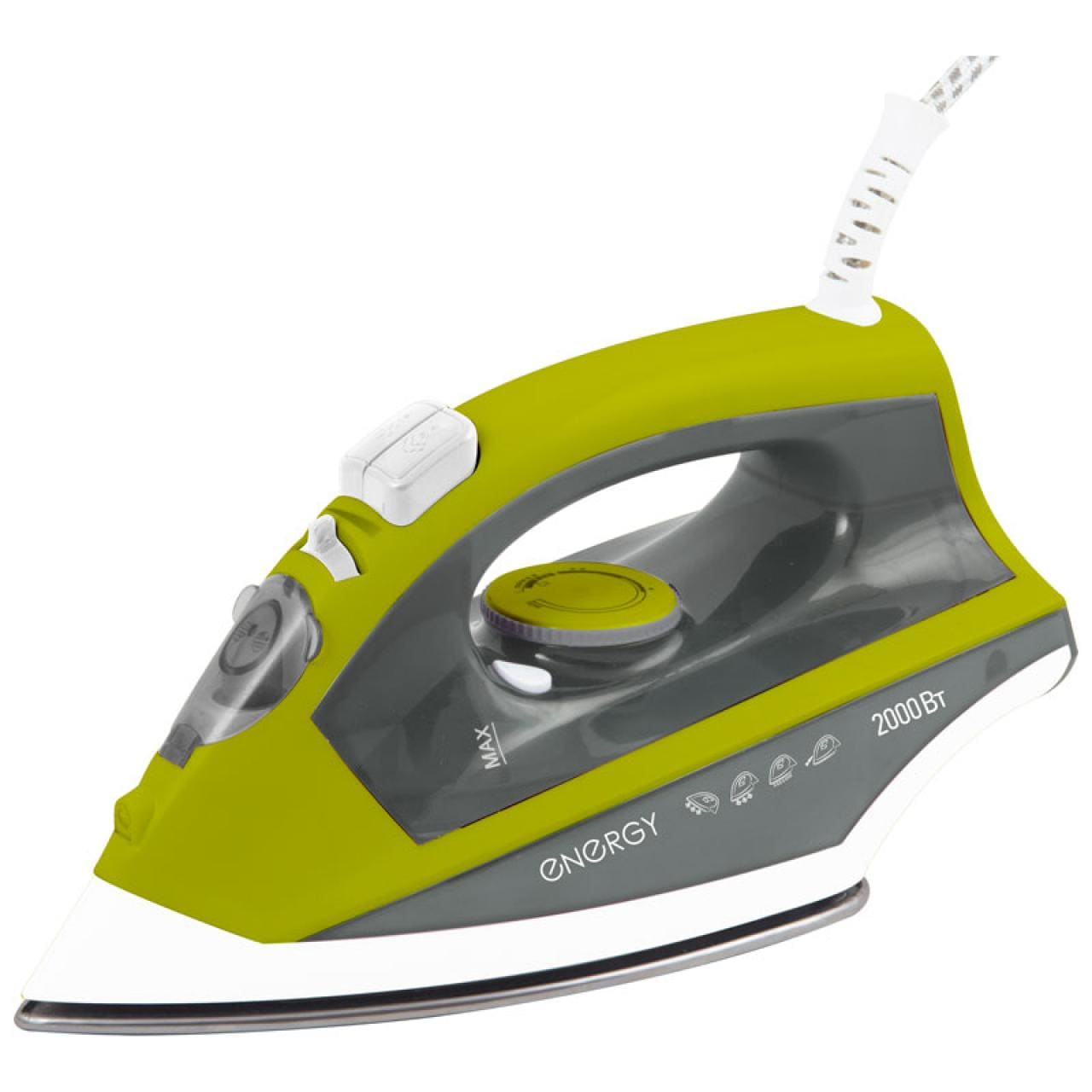 Утюг ENERGY EN-328 зеленый