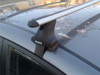 Багажник на крышу Kia Optima (TF) 2010-15, Атлант, аэродинамические дуги