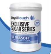 Сахарная паста Depiltouch professional Exclusive sugar series Ультрамягкая №1 800 г.