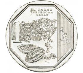Какао 1 новый соль Перу 2013
