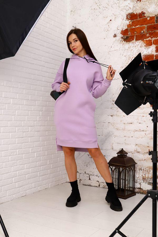 Платье 15069 [светло-лиловый]