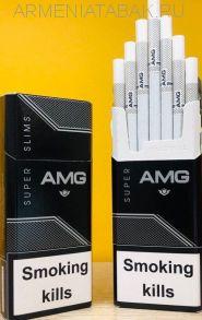 (111)AMG Super Slims black (оригинал) АМ