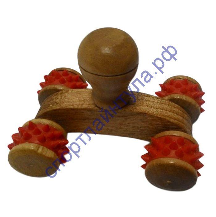 Массажер Луноход деревянный