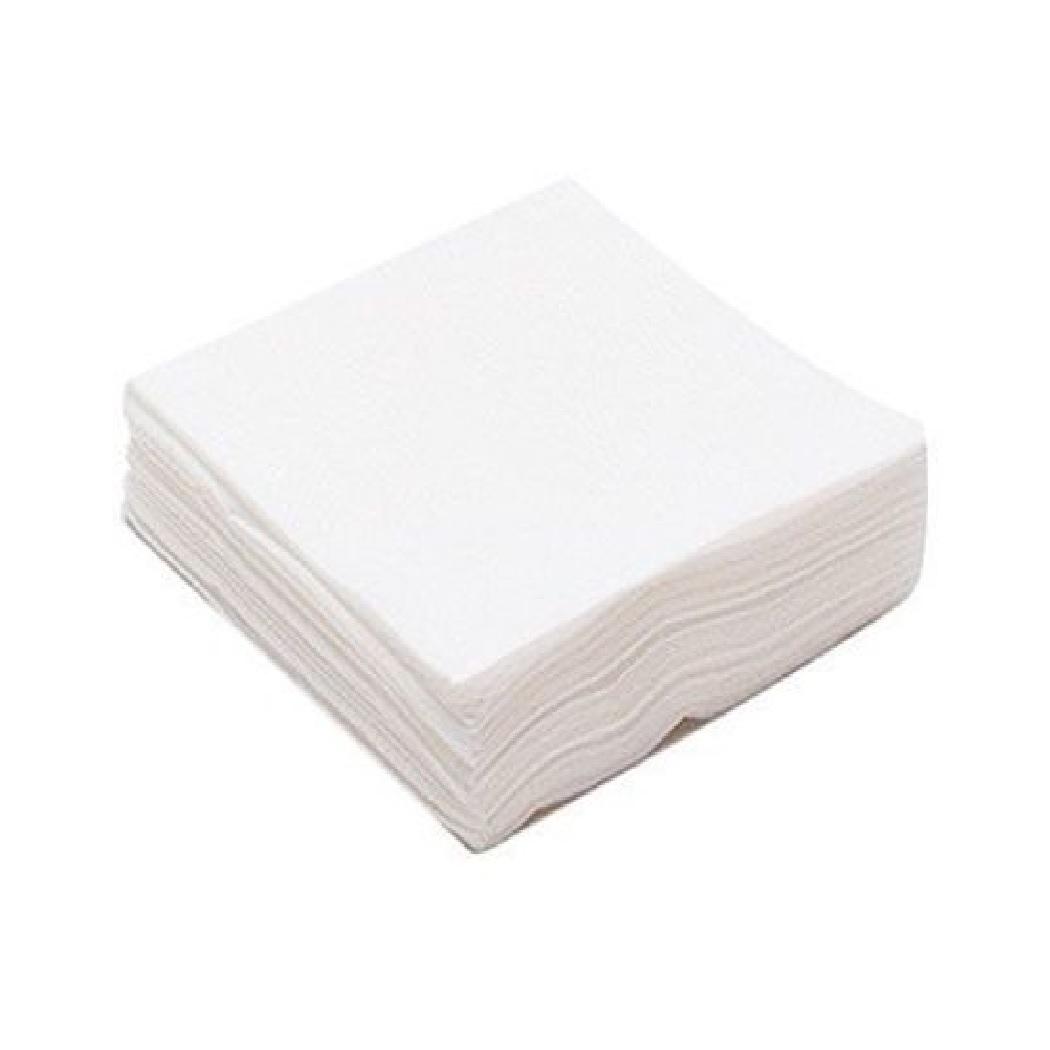 Салфетка одноразовая 20*20 спанлейс белый White line (№100) пачка