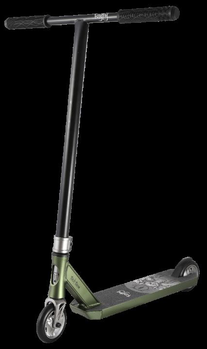 Самокат трюковый TT Ragtag (2021) зеленый