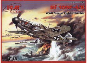 Bf 109F-4 / B, Германский истребитель-бомбардировщик
