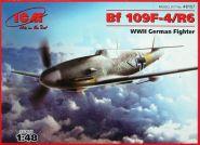 Bf 109F-4/R6 - Германский истребитель II MB