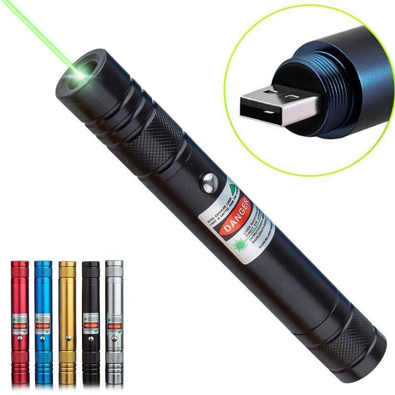 Лазерная указка USB, 2000 мВт