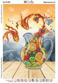 Фея Вышивки В-489 Фруктовый Сок схема для вышивки бисером купить оптом в магазине Золотая Игла