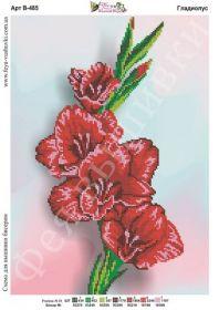 Фея Вышивки В-485 Гладиолус схема для вышивки бисером купить оптом в магазине Золотая Игла