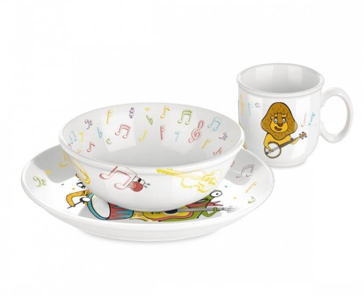 Набор посуды BAMBINI Tescoma музыканты 3 шт 667960