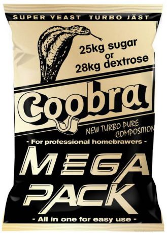 Спиртовые турбо дрожжи Сoobra MEGA PACK, 360 гр