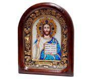 """Икона """"Господь Вседержитель Иисус Христос"""" в окладе"""