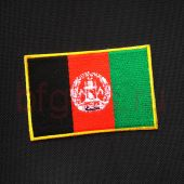 Вышитый флаг Афганистана