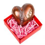 "Шоколад ""Сердце на молнии"", в коробочке"